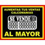 Calcomania Se Vende Al Mayor Y Detal