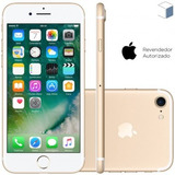 Celular Iphone 7 128gb Gold Desbloqueado Chip A10 Fusion