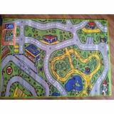 Carpeta Alfombra Infantil Pista 100 X 140 Decor Mod 1