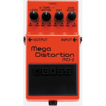 Pedal Boss Md-2 Mega Distortion Musical Store