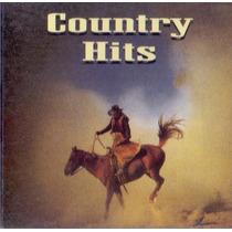 Cd Country Hits - Som Livre - Novo***