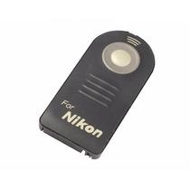 Controle Remoto Disparador Sem Fio Para Câmeras Nikon Ml-l3