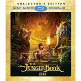 Blu-ray Jungle Book / Libro De La Selva (2016) 3d + 2d + Dvd
