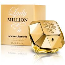 Lady Million 80ml Edp Paco Rabanne Original E Lacrado + Nf