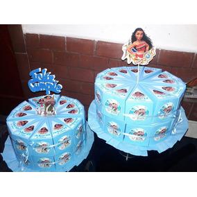 Moana, 36 Bolsitas Golosinas, Torta Cajitas