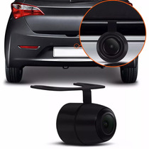Camera Re Automotiva Colorida Estacionamento Universal Placa