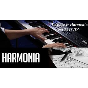 Curso De Teclado, Harmonia & Percepção (26 Dvds)