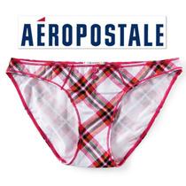 Envio Bikini Calzon Aeropostale S Chico Rosa Cuadros Hipster