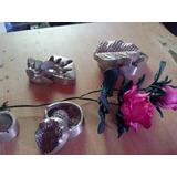 .3moldes De Aluminio Para Hacer Flores En Goma Eva O Tela