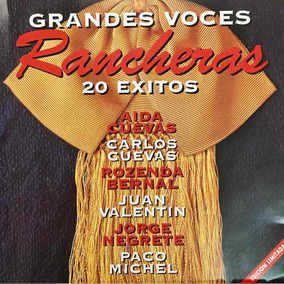 Cd Grandes Voces Rancheras 20 Exitos Aida Cuevas J Negrete
