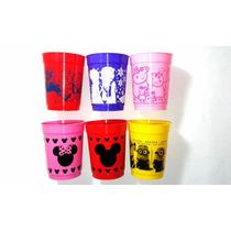 Souvenir Vasos Plásticos Minie Mickey X 10 Unidades.