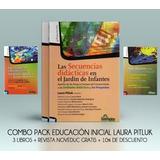 Combo Pack Educación Inicial 3 Libros + Revista (hs)