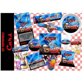 Kit Imprimible Etiquetas Mesa De Postres Dulces Cars Carros