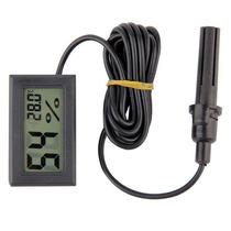 Termometro Higrometro Digital Cable Sensor De Temperatura