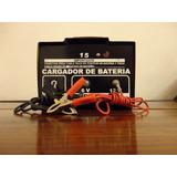 Cargador De Baterias 12v / 6v 15 Ampers Para Auto O Moto