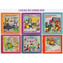 Livro Coleção Serelepe 6 Volumes