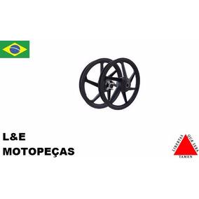 Jg Roda Liga Leve Moto Fan 125 09 Em Diante (par) Tambor