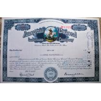 Bono Accion Banco Aseguradora A. I. G 1967 !!!!