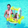 Salvavida Inflable C/ Techo Uv Bote Baby Bebe Children´s