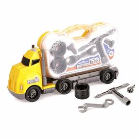 Caminhão Ferramentas Brincar Crianças Brinquedo Paki Tools