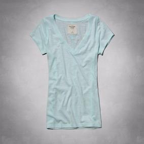 Camiseta Feminina Abercrombie Casacos Camisas Hollister Gap