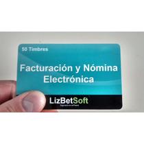 50 Folios Timbres Facturacion Y Nomina Electronica