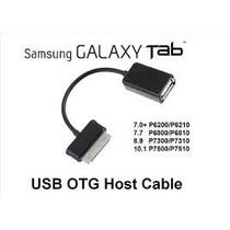 Cabo Adaptador Usb Otg Host Tablet Samsung Galaxy Tab Note !