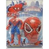Homem Aranha Boneco Articulado 25 Cm Mais Mascara