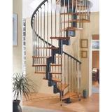 Projeto Escada Caracol Espiral Frete Grátis
