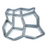 Forma Piso Picina Para Concreto 40x40x4cm