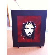 Cuadro O Adorno Cara Cristo Corte Laser , Tercera Dimensión