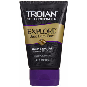 Gel Lubricante Trojan Explore Just For Fun Gran Calidad