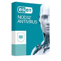 Eset® Nod32 Antivirus - 2pc - 1 Año