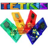 Kit 4 Mini Game Tetris 132 Jogos Retro + 8 Pilhas Grátis