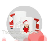 Taza 11oz Asa Santa Claus O Pinguino Sublimacion Sublimar