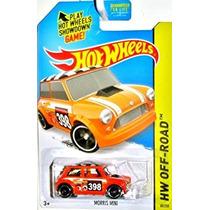 Juguete Hot Wheels, 2015 Hw Off-road, Morris Mini [orange]