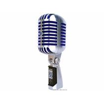 Shure Super 55 Micrófono Vocal Montado En Soporte.