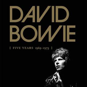 David Bowie Five Years 1969 - 1973 (12 Cds) ¡en Stock!