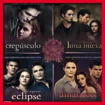 Saga Audiolibros: Crepusculo, Amanecer, Luna Nueva, Eclipse