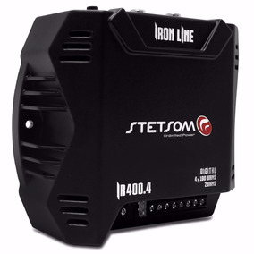 Módulo Amplificador Stetsom Iron Line Ir400.4 400w Rms Digit