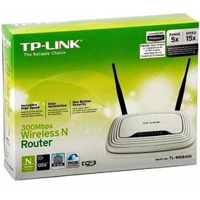 Router Inalambrico Tplink Tl-wr841n 02 Antenas 300mpbs Wifi