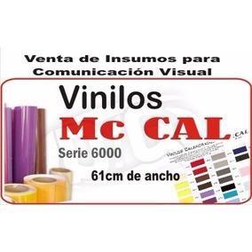 Vinilo De Corte Mccal 61cm De Ancho Serie 6000