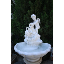 Fonte Cupido Cascata Para Decoração De Casa E Jardim -fpr086