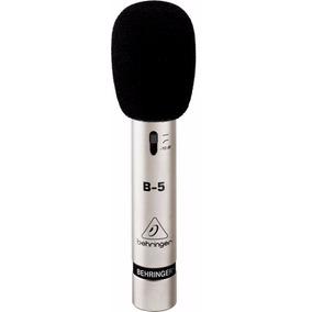Microfone Condensador Behringer B5 Novo C/ Garantia