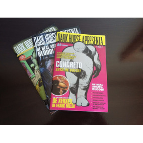 Dark Horse Apresenta Hqm Editora Lote Vol 1-2-3 Tudo!