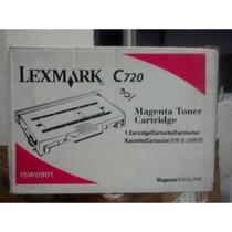 Toner Lexmark 15w0901 Para C720 Magenta Original
