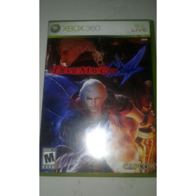 Devil May Cry 4 Xbox 360 Usado C/ Manual