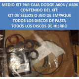 Medio Master Kit Caja Dodge A604 / A606