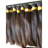 Alongamento Humano Para Mega Hair 75cm 100g Liquida Tudo