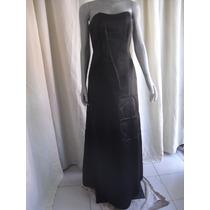 Vestido Color Negro Talla 6 Marca David